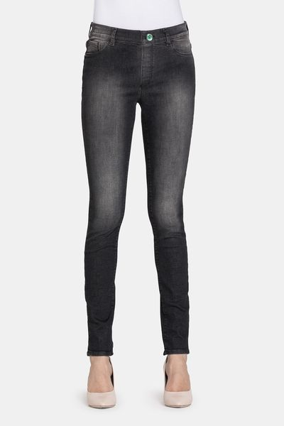 Da Donna Grigio Ex High Street stretch slim SKINNY LEG Jeans